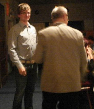 Juniorenmeister Martin Appelt