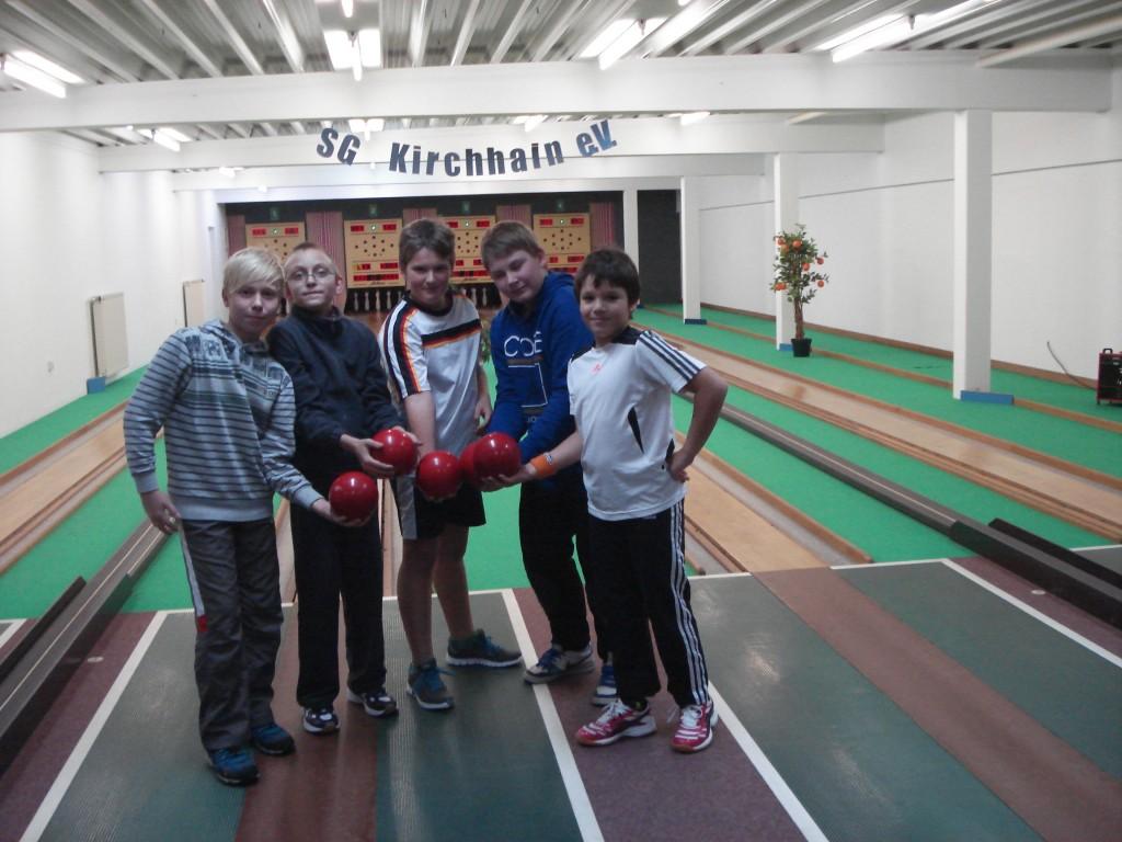 Nachwuchskegler in Kirchhain