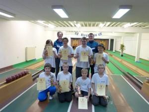 Siegerehrung Kreismeisterschaft Jugend B