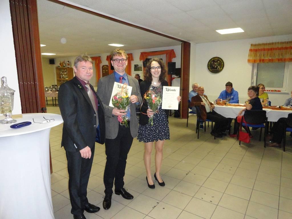 1. Platz Paar Mixed - Johanna Geisler und Martin Appelt