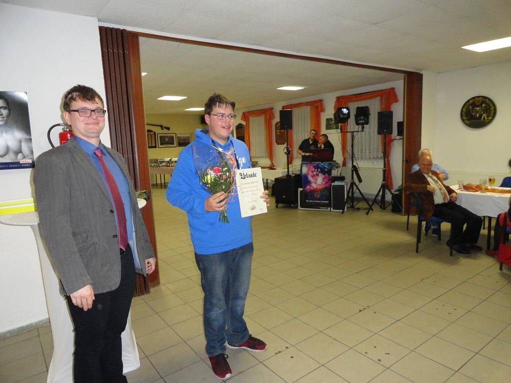 1. Platz Junioren - Thomas Rummler