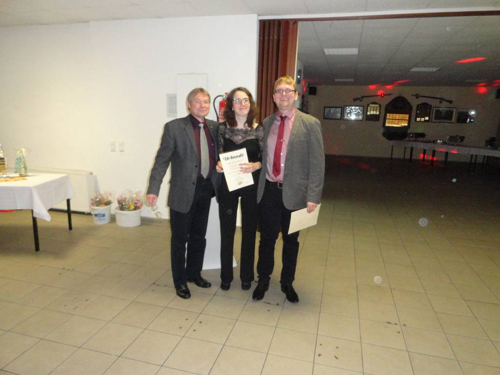 1. Platz Paar Mixed Johanna Geisler und Martin Appelt